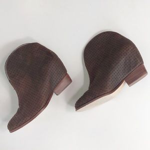 Matt Bernson Brown Ankle Booties